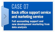 CASE07 Back office support service and marketing service